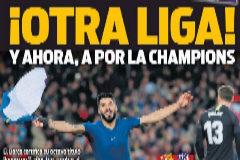 Así vienen las portadas del día después del Barça-Atlético