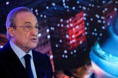 Florentino Pérez, durante la presentación del nuevo estadio.