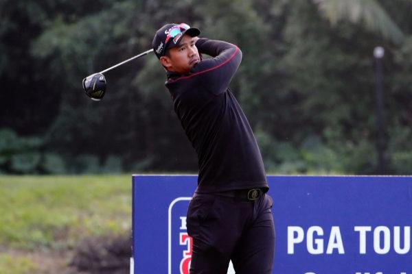 Arie Irawan, durante un torneo del PGA Tour.