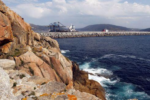 Vista de la zona de la costa de Ferrol