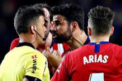 Los insultos que le costaron la expulsión a Diego Costa