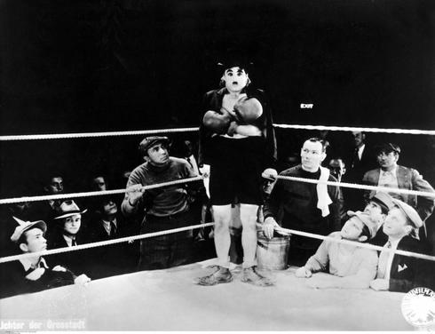 Charles Chaplin, en 'Luces de la ciudad'.