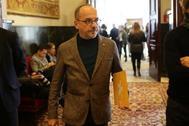 El diputado de PDeCAT, Carles Campuzano, en el Congreso