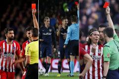 Las siete expulsiones en el Camp Nou que han irritado al Atlético