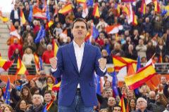 Albert Rivera, durante el acto de Ciudadanos en Las Rozas (Madrid)