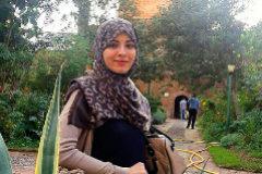 Lubna Mohamed Miludi, la joven ceutí que se fue sola a Siria hace cinco años. Ahora está en un campo de prisioneros.