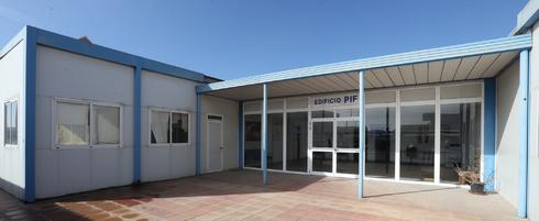 Instalaciones del Puesto de Inspección Fronteriza en el recinto portuario de Castellón.