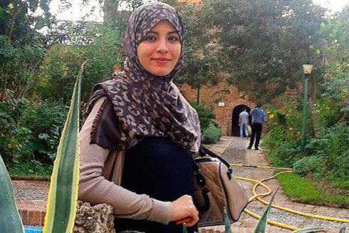 Lubna Mohamed Miludi, la joven maestra ceutí que se fue sola a Siria. EL MUNDO