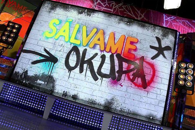 Logo de Sálvame Okupa, el nuevo 'reality' con colaboradores de...
