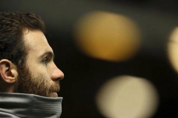 Juan Mata, con el Manchester United.