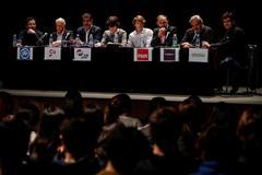 Debate con los candidatos guipuzcoanos.
