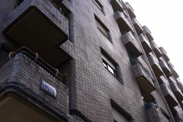 Edificio de Madrid en el que recientemente se registró un suicidio.