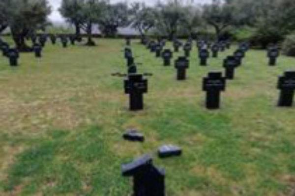 Sucesos | Actos de vandalismo en el único cementerio militar alemán en España