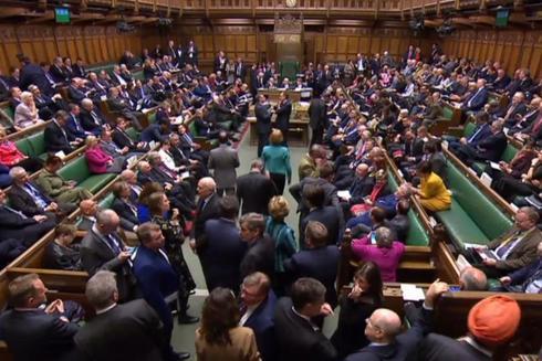 El parlamento británico.
