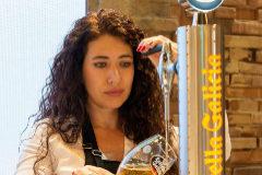 Davinia Martínez, ganadora del Campeonato Nacional Estrella de Galicia 2018.