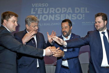 Salvini, a por la 'internacional populista'