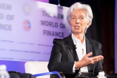 La directora gerente del Fondo Monetario Internacional (FMI), Christine Lagarde, en una conferencia en Washington celebrada la semana pasada.