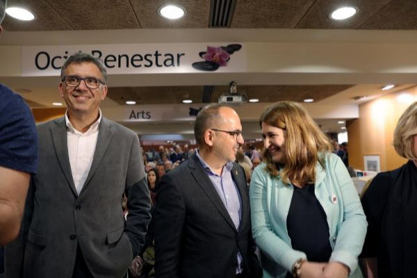Barcelona, 08.04.2019 Presentacion del libro del ex diputado del...