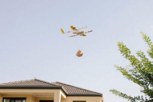 Google probará su sistema de reparto por drones en Australia