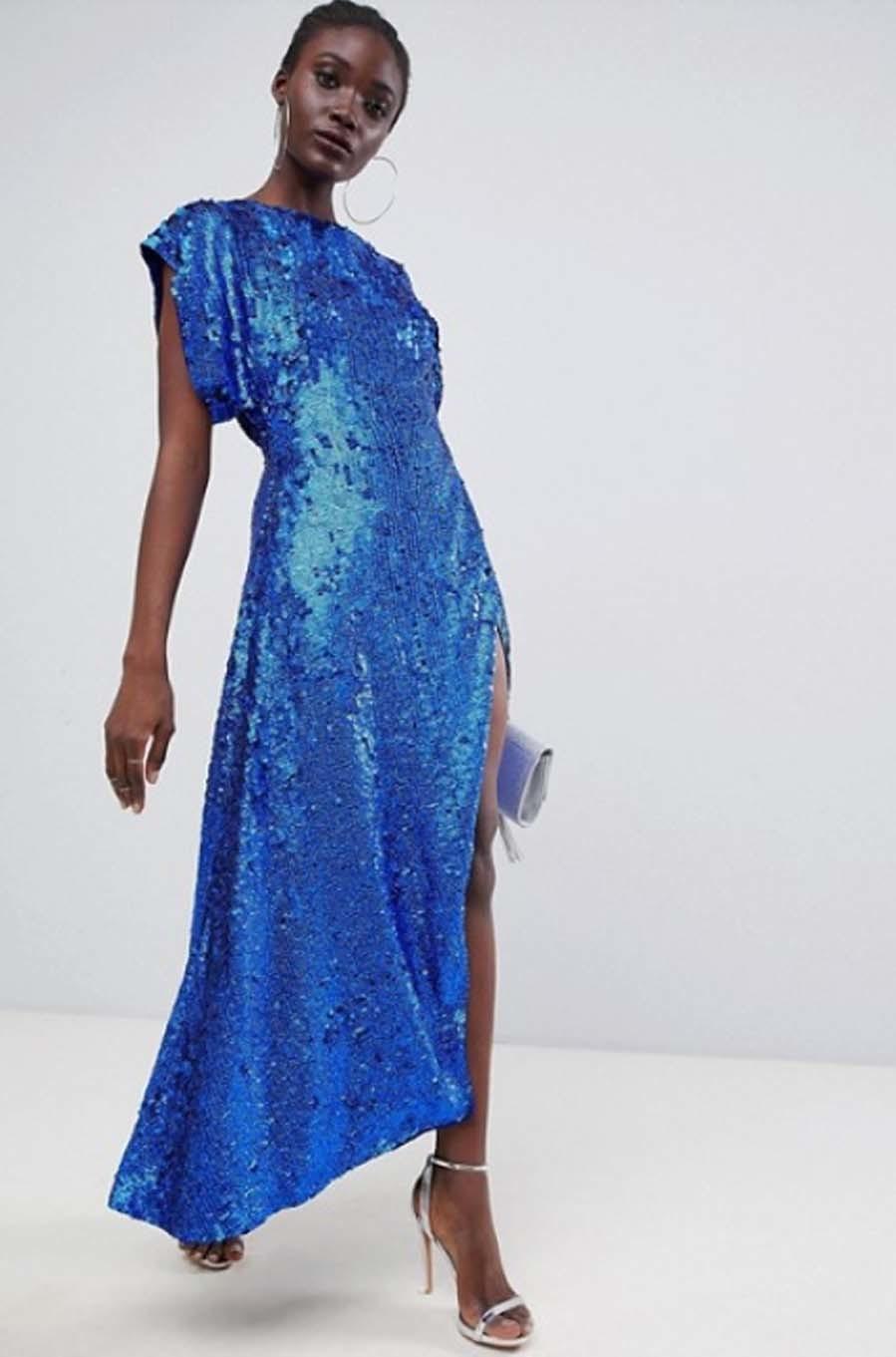 Vestido de Asos Edition - Looks con lentejuelas para invitadas