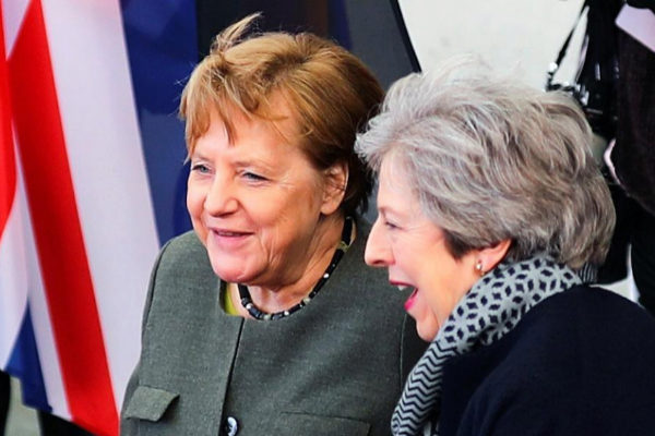 British PM <HIT>May</HIT> meets German Chancellor <HIT>Merkel</HIT> in...