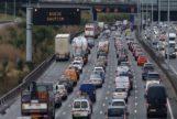 Tráfico congestionado en Londres
