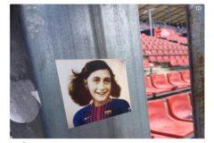 El Espanyol se desmarca de la imagen de Anna Frank vestida del Barcelona