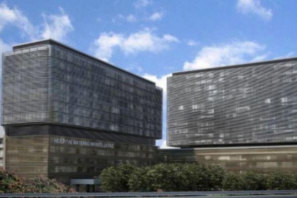 Recreación del Hospital de la Paz ya reformado.