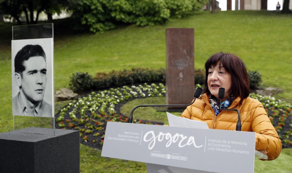 Dori Monasterio, en el homenaje.