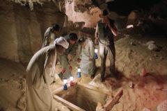 Egipto convierte la apertura de un sarcófago en un show televisivo