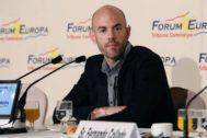 Jordi Soteras Catalunya Barcelona 20/03/2019 Conferencia coloquio en el Hotel Palace del fundador de <HIT>Cabify</HIT> Juan de Antonio Rubio dentro de El Forum Europa Foto Jordi Soteras