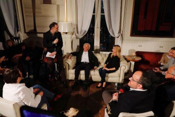 Barcelona, 9 de Abril de 2019 Acto de precampaña electoral de la...