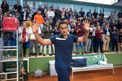 Almagro dice adiós al tenis tras perder en el torneo de Murcia