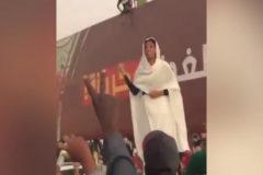 "La ""reina nubia"", icono de la revolución sudanesa"