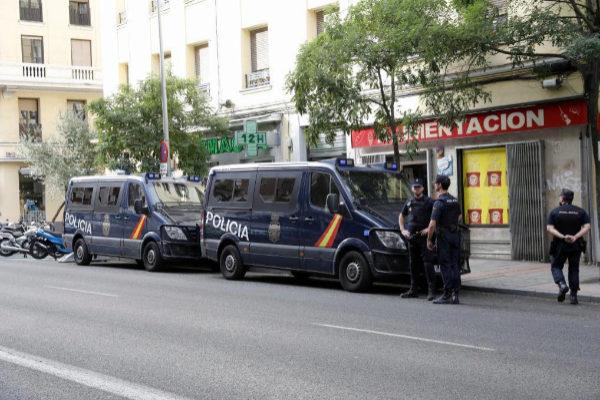 Agentes de la Policía Nacional, en una operación.