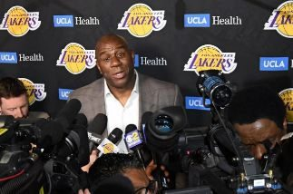 Crisis total en los Lakers: Dimite Magic Johnson