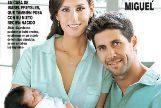Ana Boyer y Fernando Verdasco presentan a su hijo, Miguel