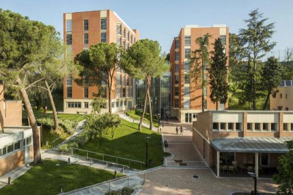 Campus de la escuela de negocios Cunef, en Ciudad Universitaria.
