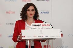 Isabel Díaz Ayuso, candidata del PP de Madrid.