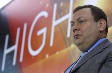 Mikhail Fridman durante una ceremonia en la Bolsa de Moscú el pasado año.