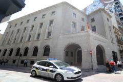 Edificio de la Subdelegación del Gobierno en la plaza La Paz compartido con Costas y Muface.