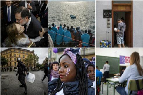 Del 'procés' al feminismo: así ha cambiado España desde las elecciones de 2016