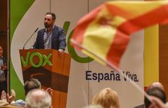 Vox exige el nombre y el DNI para asistir al acto de Abascal en San Sebastián