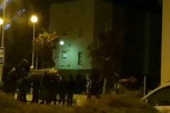 Así trasportan lanchas unos presuntos narcos en Cádiz
