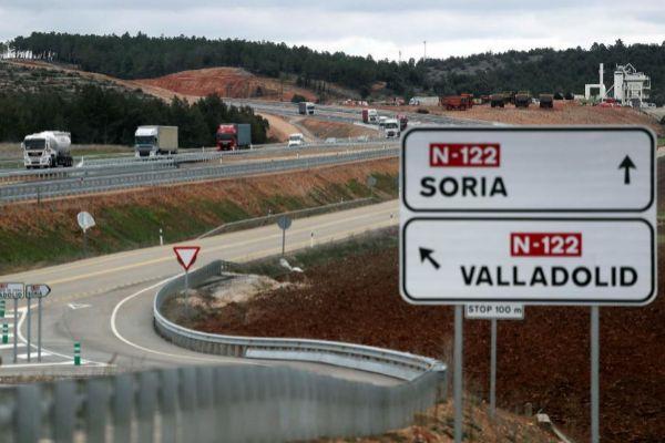 Tramo de la A-11 abierto el miércoles en Soria tras 15 años de retraso.