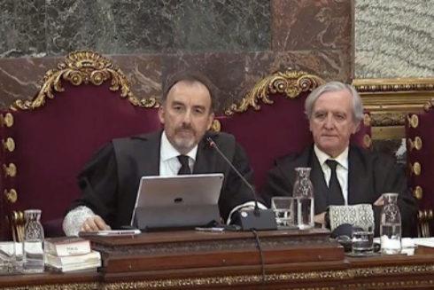 El tribunal del 1-O, presidido por Manuel Marchena
