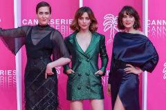 Aixa Villagran, Leticia Dolera y Celia Freijeiro, este miércoles en Cannes.