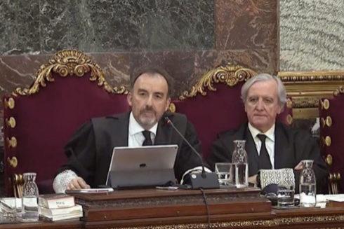 El juez Manuel Marchena preside el tribunal del 1-O