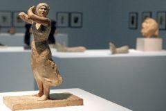 Una de las piezas que forman parte de la exposición 'Materia, espacio y tiempo. Julio González y las vanguardias' en el IVAM.