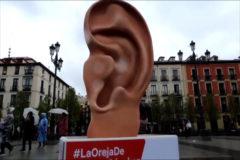 """Change.org """"pone la oreja"""" de los candidatos del 28A en las calles de Madrid"""